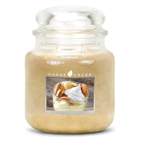 Banana Pudding 16oz Scented Candle Jar