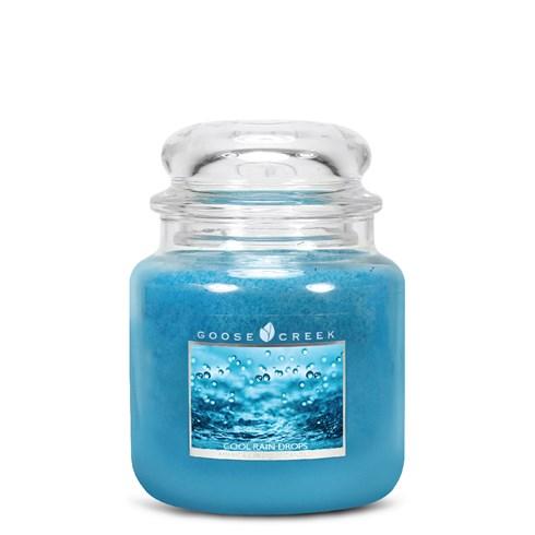 Cool Rain Drops 16oz Scented Candle Jar