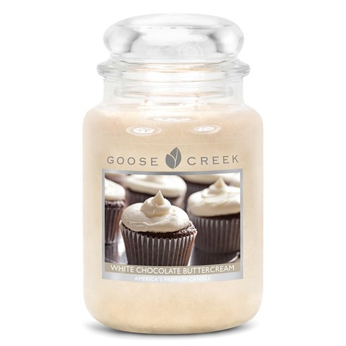 White Chocolate Buttercream 24oz Scented Candle Jar