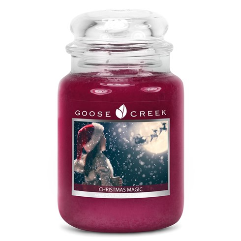 Christmas Magic 24oz Scented Candle Jar