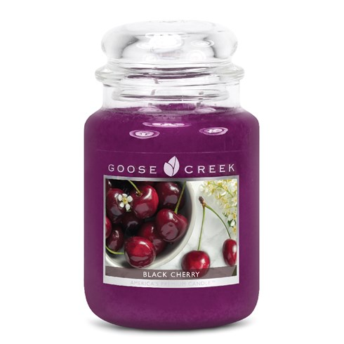 Black Cherry 24oz Scented Candle Jar