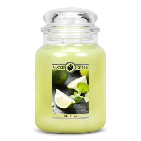Yuzu Lime 24oz Scented Candle Jar