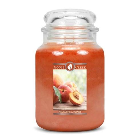 Nectarine & Honey 24oz Scented Candle Jar