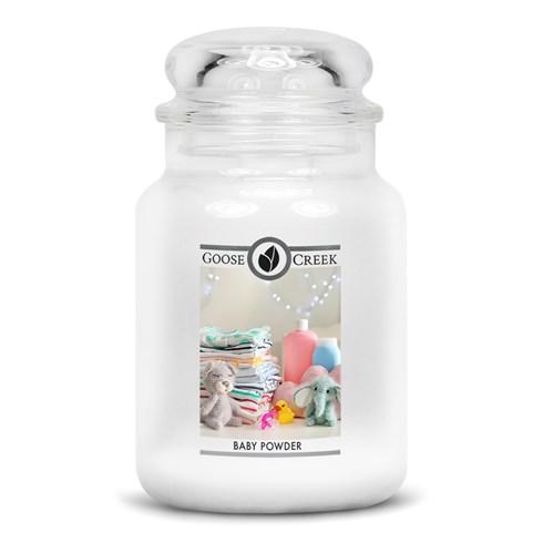Baby Powder 24oz Scented Candle Jar