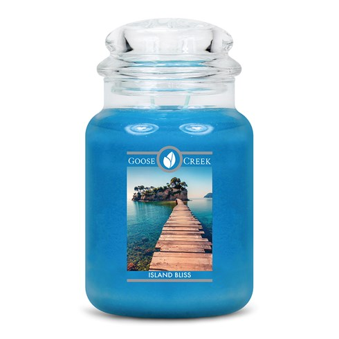 Island Bliss Goose Creek Scented Candle Jar