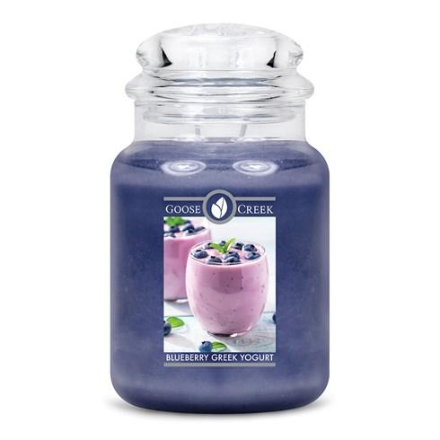 Blueberry Greek Yogurt Goose Creek Scented Candle Jar
