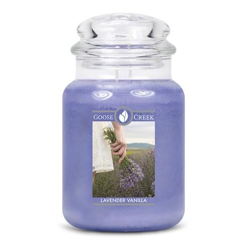 Lavender Vanilla Goose Creek Scented Candle Jar