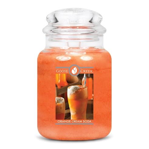 Orange Cream Soda Goose Creek Scented Candle Jar
