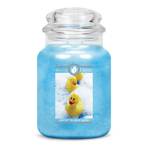 Bright Bubble Bath Goose Creek Scented Candle Jar