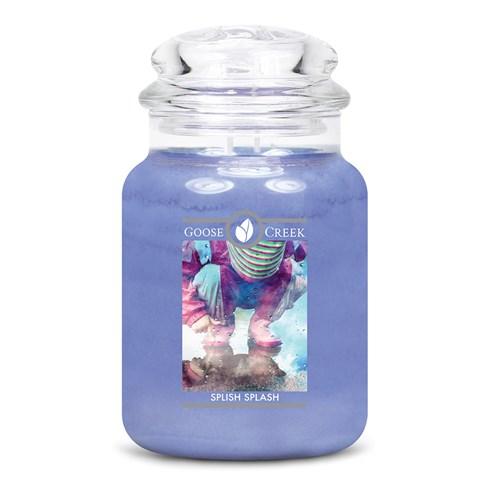 Splish Splash Goose Creek Scented Candle Jar