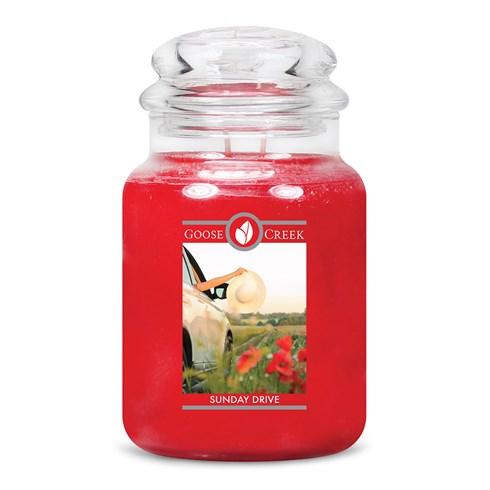 Sunday Drive Goose Creek Candle Jar