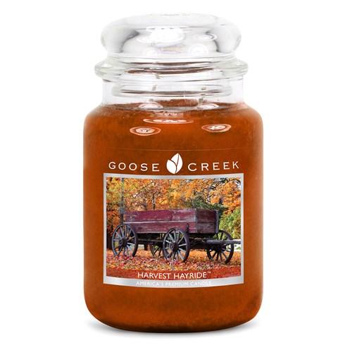 Harvest Hayride 24oz Scented Candle Jar