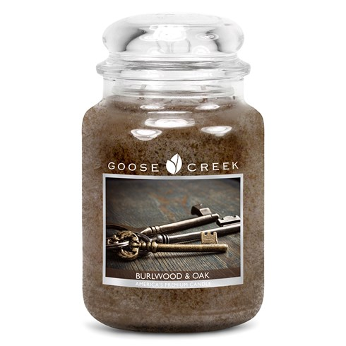 Burlwood & Oak 24oz Scented Candle Jar