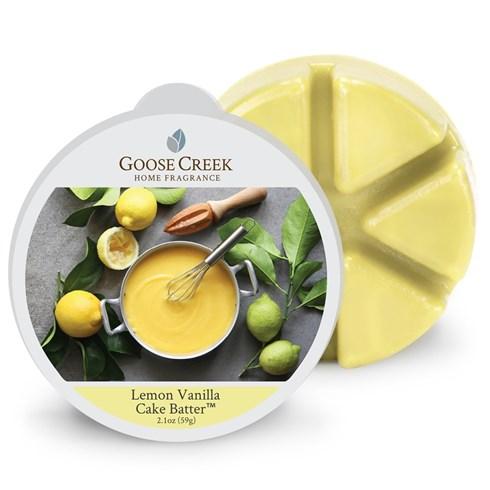 Lemon Vanilla Cake Batter Scented Wax Melts