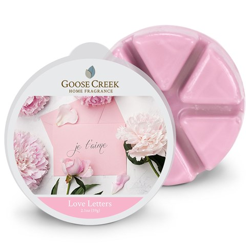 Love Letters Goose Creek Scented Wax Melts