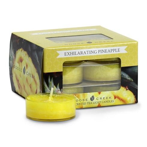 Exhilarating Pineapple Scented Tea Lights