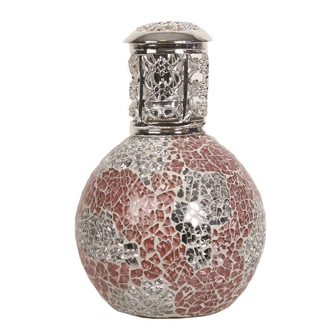 Fragrance Lamp - Coral & Silver