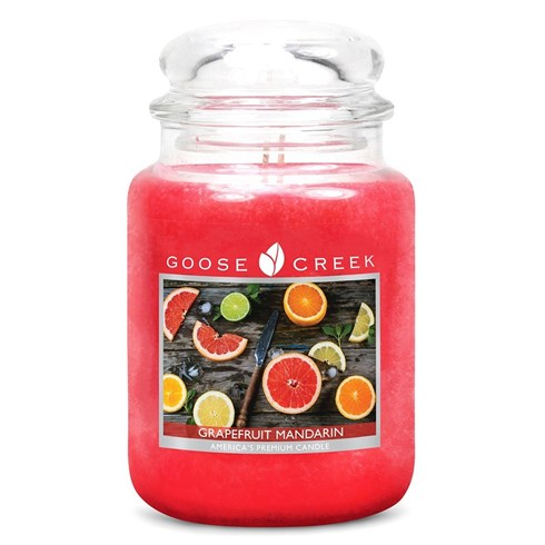 Grapefruit Mandarin 24oz Scented Candle Jar