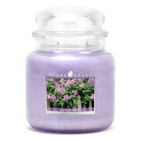 Lilac Garden 16oz Scented Candle Jar
