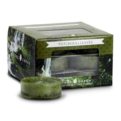 Patchouli Leaves Scented Tea Lights