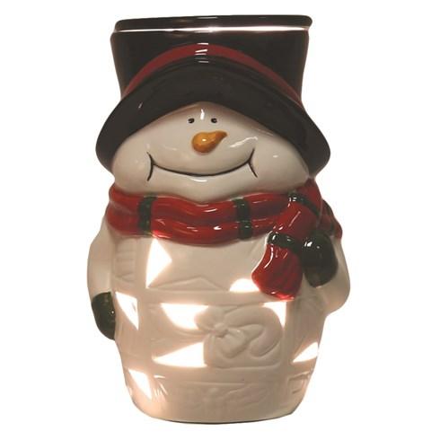 Snowman Electric Wax Melt Burner