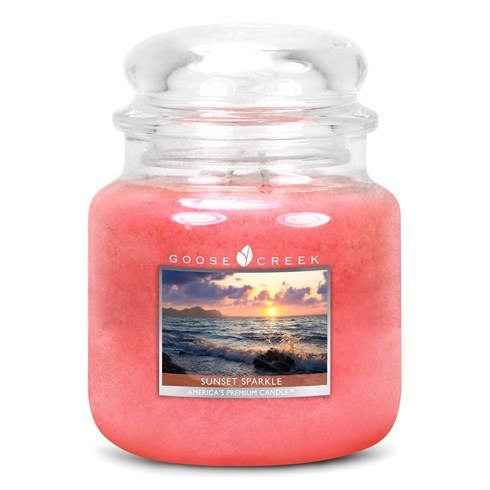 Sunset Sparkle 16oz Scented Candle Jar