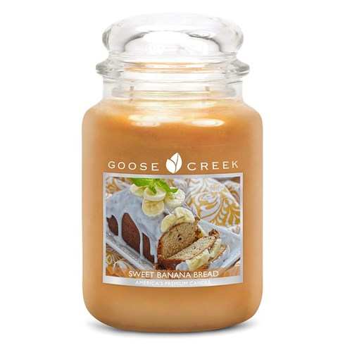 Sweet Banana Bread 24oz Scented Candle Jar
