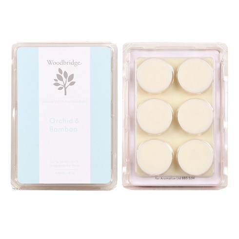 Orchid & Bamboo Soy Wax Melt Pack