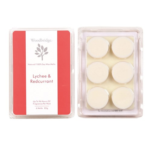 Lychee & Redcurrant Soy Wax Melt Pack