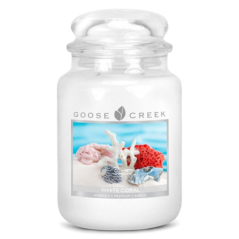 White Coral 24oz Scented Candle Jar