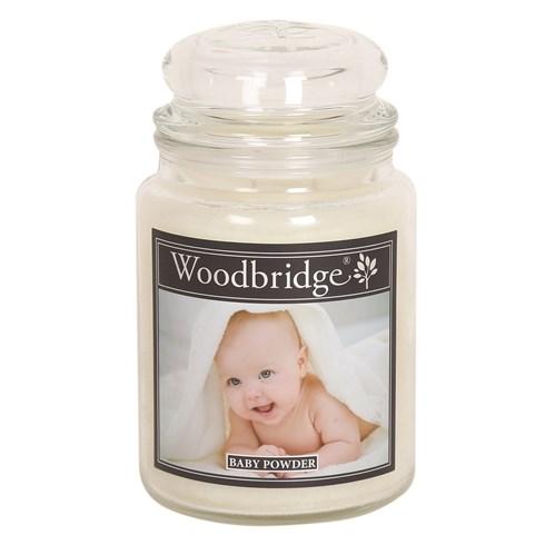 Baby Powder Woodbridge Large Scented Candle Jar