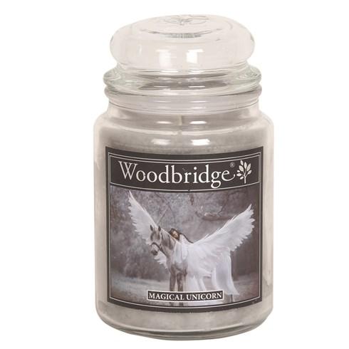 Magical Unicorn Woodbridge Large Scented Candle Jar