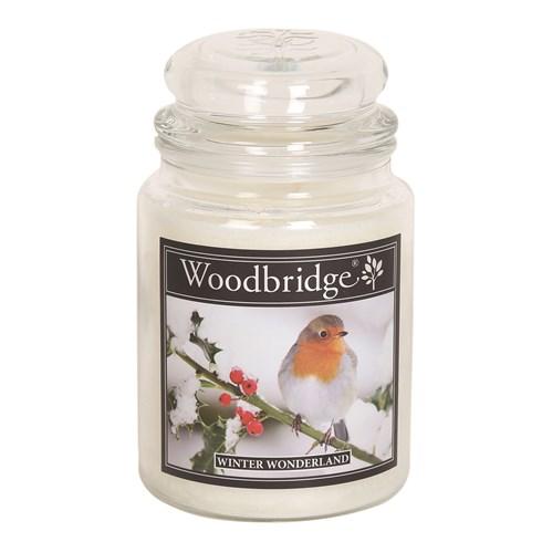 Winter Wonderland Woodbridge Large Scented Candle Jar