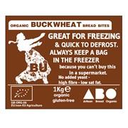 Organic Gluten-Free Buckwheat Bread Bites