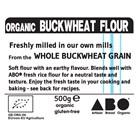 Freshly Milled Organic Gluten-Free Buckwheat Flour
