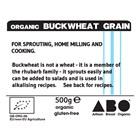 Organic Gluten-Free Buckwheat Grain