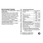 Organic Gluten-Free Buckwheat Panini