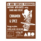 Bread Puddings (Box of 6) 450g - Sweetened with dates only