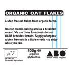 Organic Gluten-Free Oat Flakes 500g