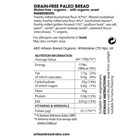 Organic Gluten-Free Rye Style 400g sliced Box of 9