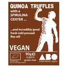 Organic Quinoa Truffles with Spirulina Bag of 6 (90g)