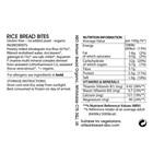 Organic Gluten-Free Wholegrain Rice Bread Bites