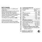 Organic Gluten-Free Rice Panini