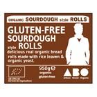 Organic Gluten-Free Sourdough Style Rolls