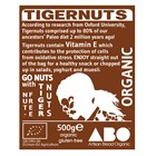Organic Gluten-Free Tigernuts Whole 500g