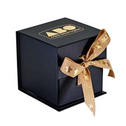 Presentation Box - Black with gold embossed ABO logo   Presentation box