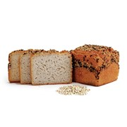 Organic Gluten-Free Buckwheat 3 Grain Bread Loaf 390g | Buckwheat 3 Grain 390g Loaf