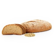 Organic Gluten-Free Sourdough Style (Rice & Buckwheat) Bread 800g Unsliced | Organic Gluten-Free Sourdough
