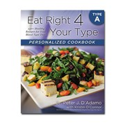 Dr. D'Adamo Personalised Cookbook For Type A
