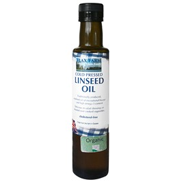 Organic Linseed/Flaxseed Oil 500ml